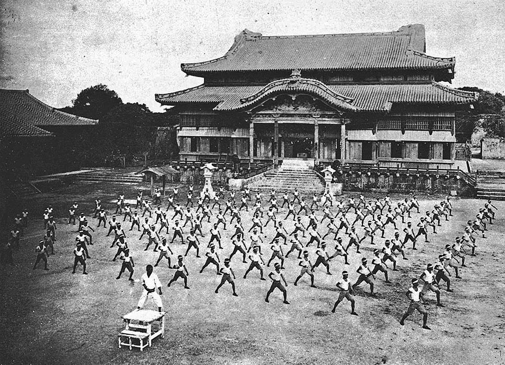 Castello di Shuri 1938 atko